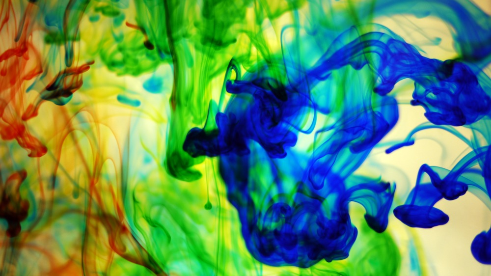 textures mixed inks flowing water abstract free stock photo